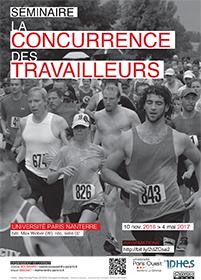 """Affiche séminaire """"La concurrence des travailleurs"""""""