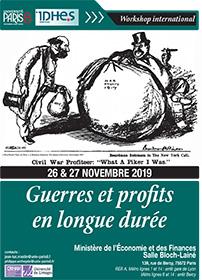 Vignette de l'affiche workshop international Guerre et profits en longue durée